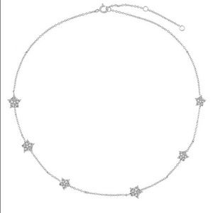 The M Jewelers Dainty Star Choker Necklace